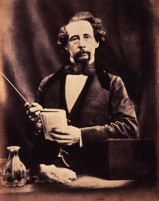 Charles Dickens By Herbert Watkins 29 April 1858  National Portrait Gallery London