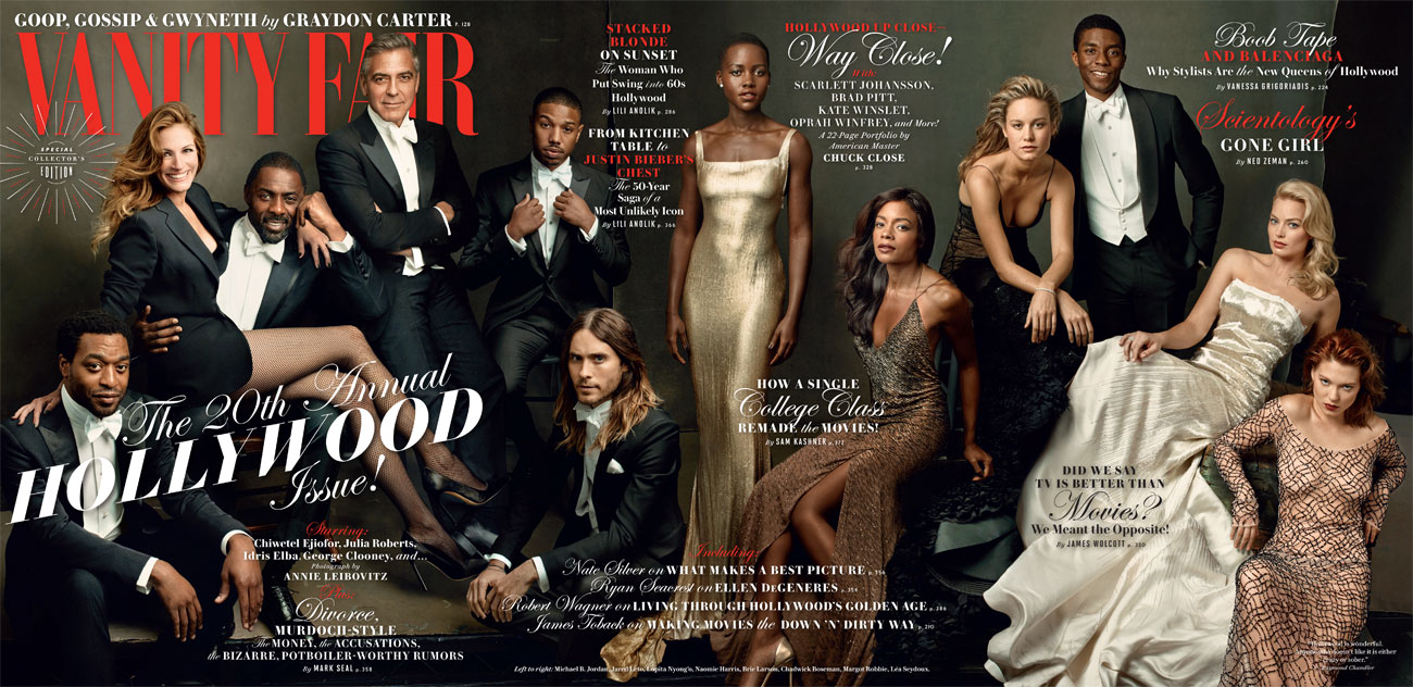 Vanity Fair March 2014 Hollywood Cover